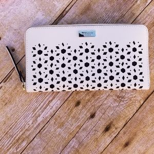 NWT Kate Spade Neda Newman Drive Cement Wallet